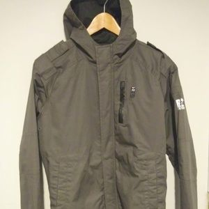 G-Star hooded over coat (recolite) slim fit